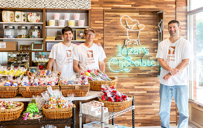 Lazar's Brothers, 4th Generation Chocolatiers