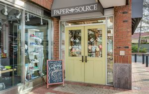 Exterior photo of Paper Source at Wheatley Plaza
